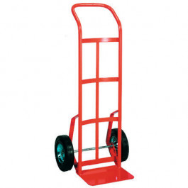 Heavy- Duty  Steel  Hand  Truck -  Continuous  Handle