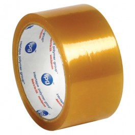 """2"""" x 55 yds.  Clear2.3  Mil  Natural  Rubber  Tape"""