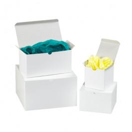 """7"""" x 7"""" x 7"""" White Gift Boxes"""