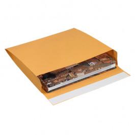 "10"" x 12"" x 2""  Kraft Expandable  Self- Seal  Envelopes"